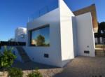 Side facade Villa Hydra